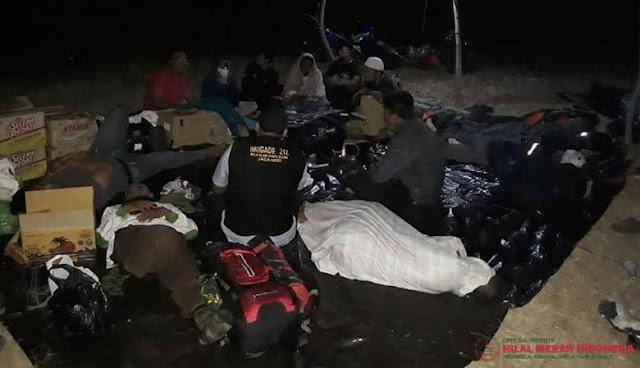 Bantu Korban Gempa NTB, Divisi Kemanusian FPI Tembus Daerah Terisolir