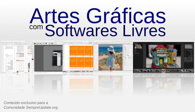 Ementa do Curso Online Artes Gráficas com Softwares Livres
