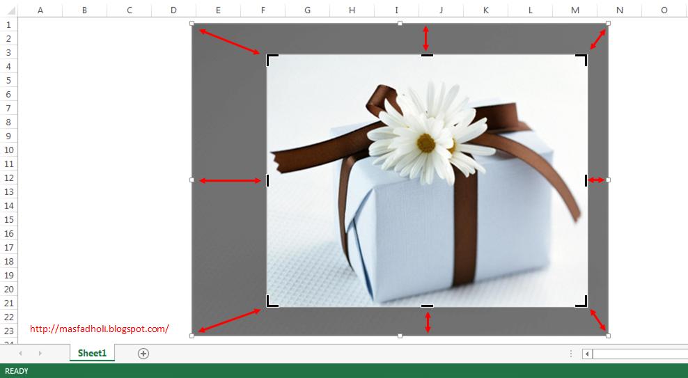 Cara Memotong Gambar Crop Picture Dengan Excel Mas Fadholi Blog