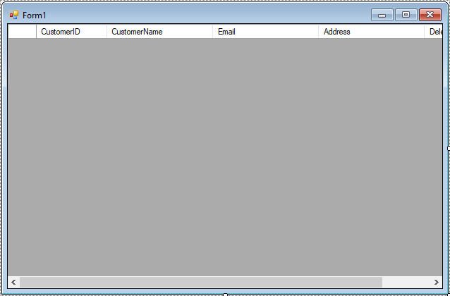 FoxLearn | Windows Forms: How to add a Button each row in a