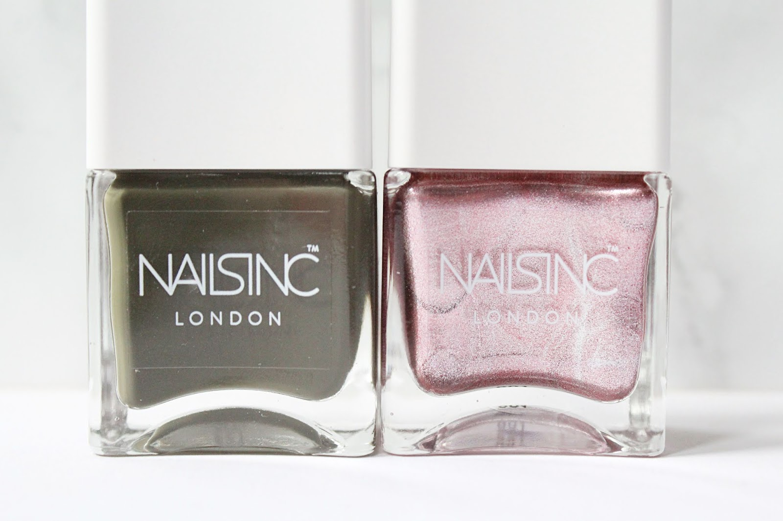 Nails Inc Girl King Nail Polish Duo Review (+ Swatches)