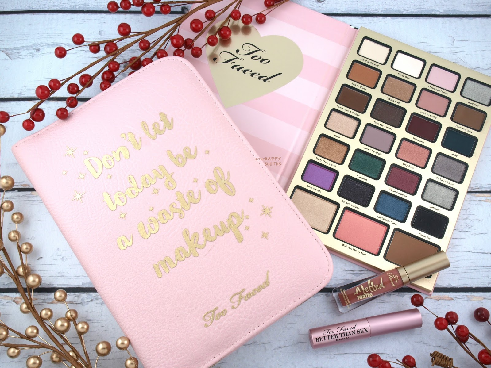 Too Faced Holiday 2017 | Boss Lady Beauty Agenda: Review and Swatches