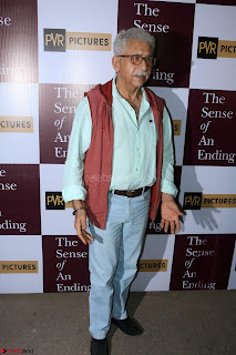 Nimrat Kaur and Naseeruddin Shah at Special Screening Of movie The Sense Of An Ending 13.JPG