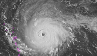 Hurricane Irma is so strong it's registering on devices designed to detect earthquakes
