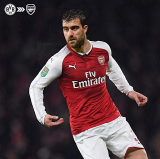 2nd Summer Signing ? - Sokratis Spotted In An Arsenal Jersey