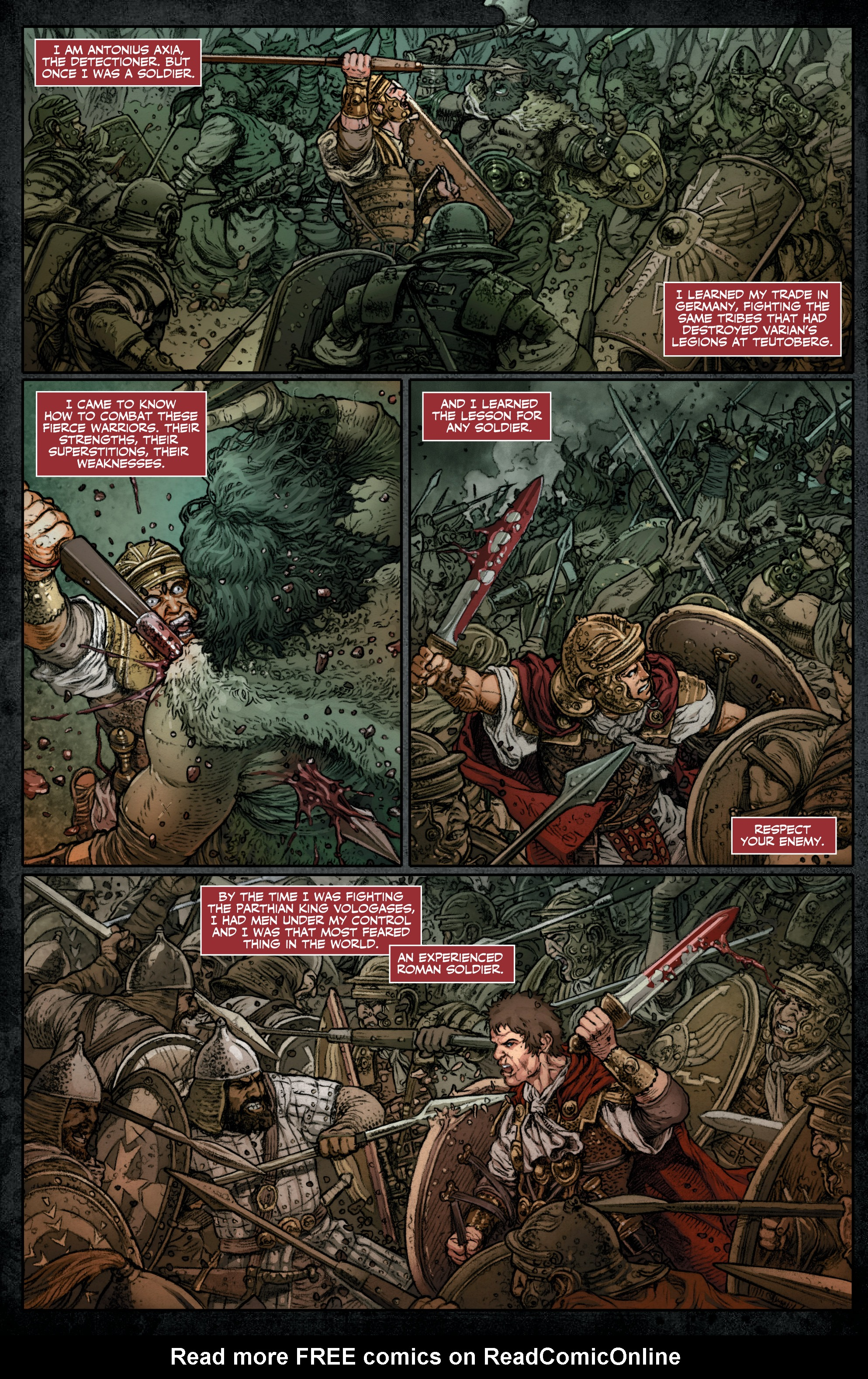 Read online Britannia: We Who Are About To Die comic -  Issue #3 - 6