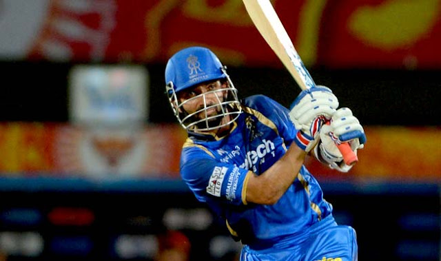 captain Rajasthan Royals DD vs RR