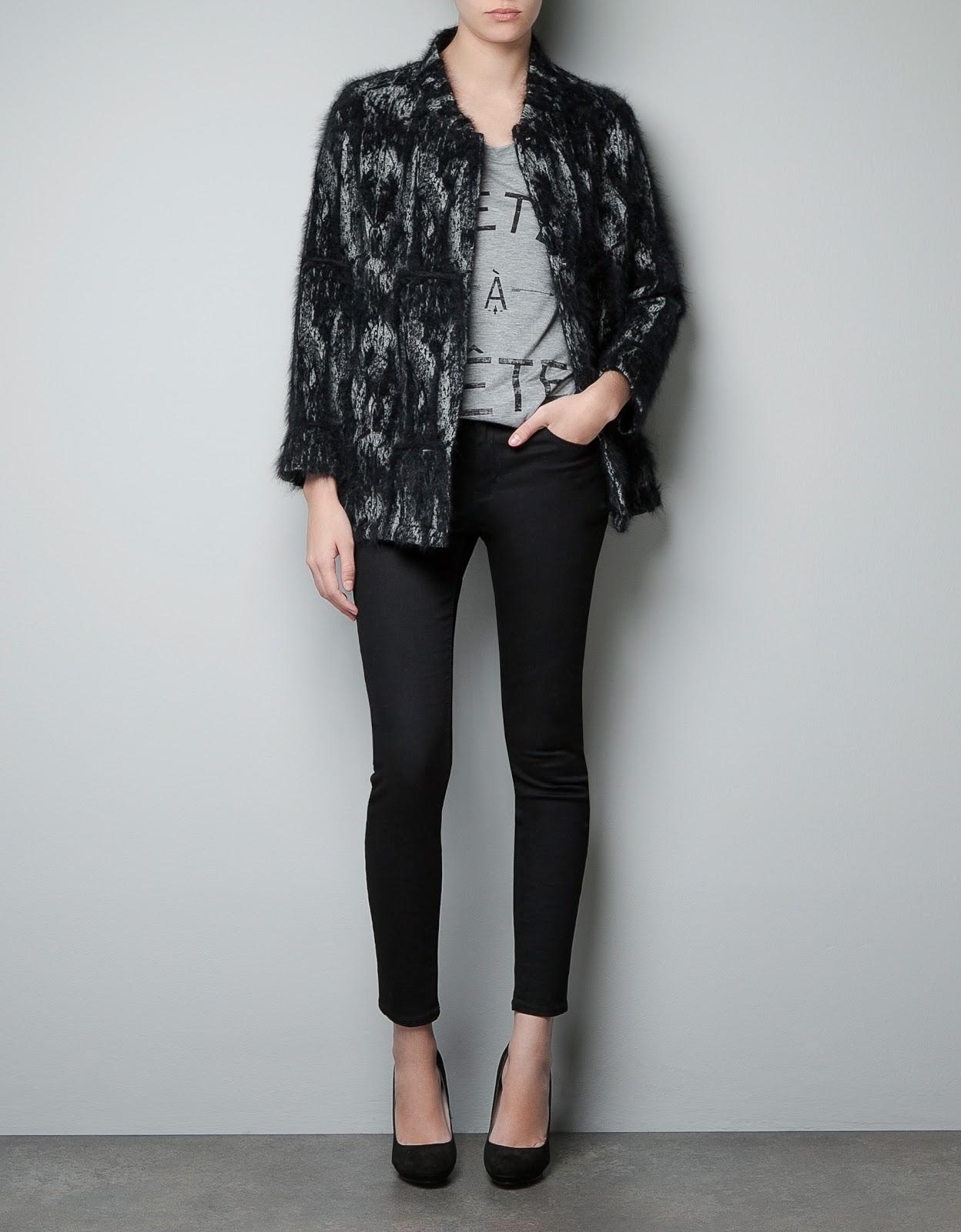 37d4aba5 ZARA- Studio fantasy three quarter length coat £219.00 €249.00 $349.00