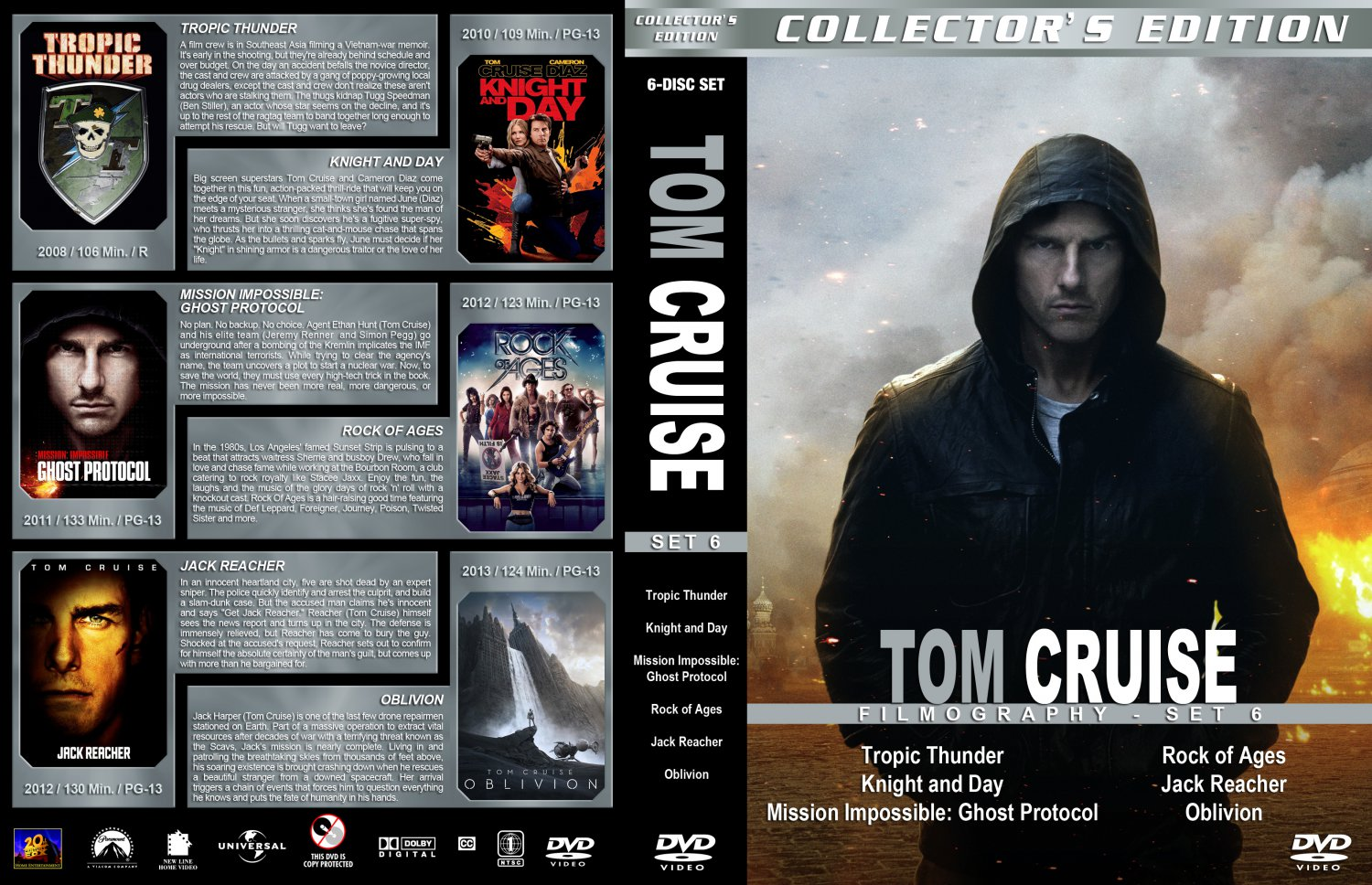 The New Cinema: TOM CRUISE MOVIE COLLECTION
