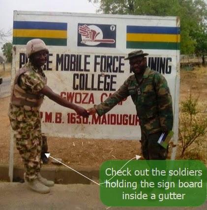 nigerian military takeover gwoza borno