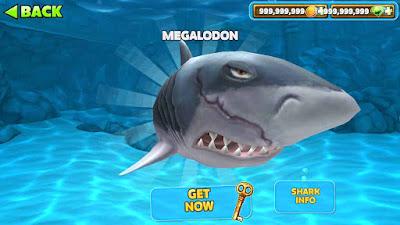 cara mendapatkan megalodon