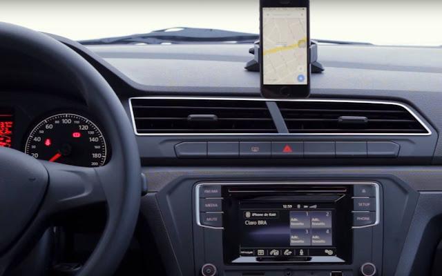 VW Gol 2017 2 portas - interior - painel