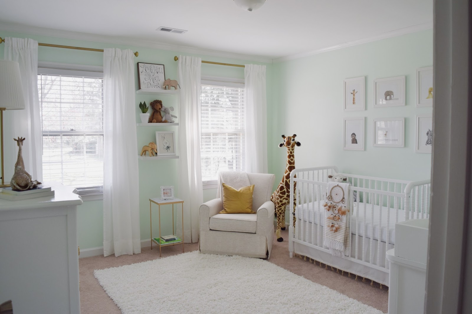 Delightfully Chic Baby G S Nursery