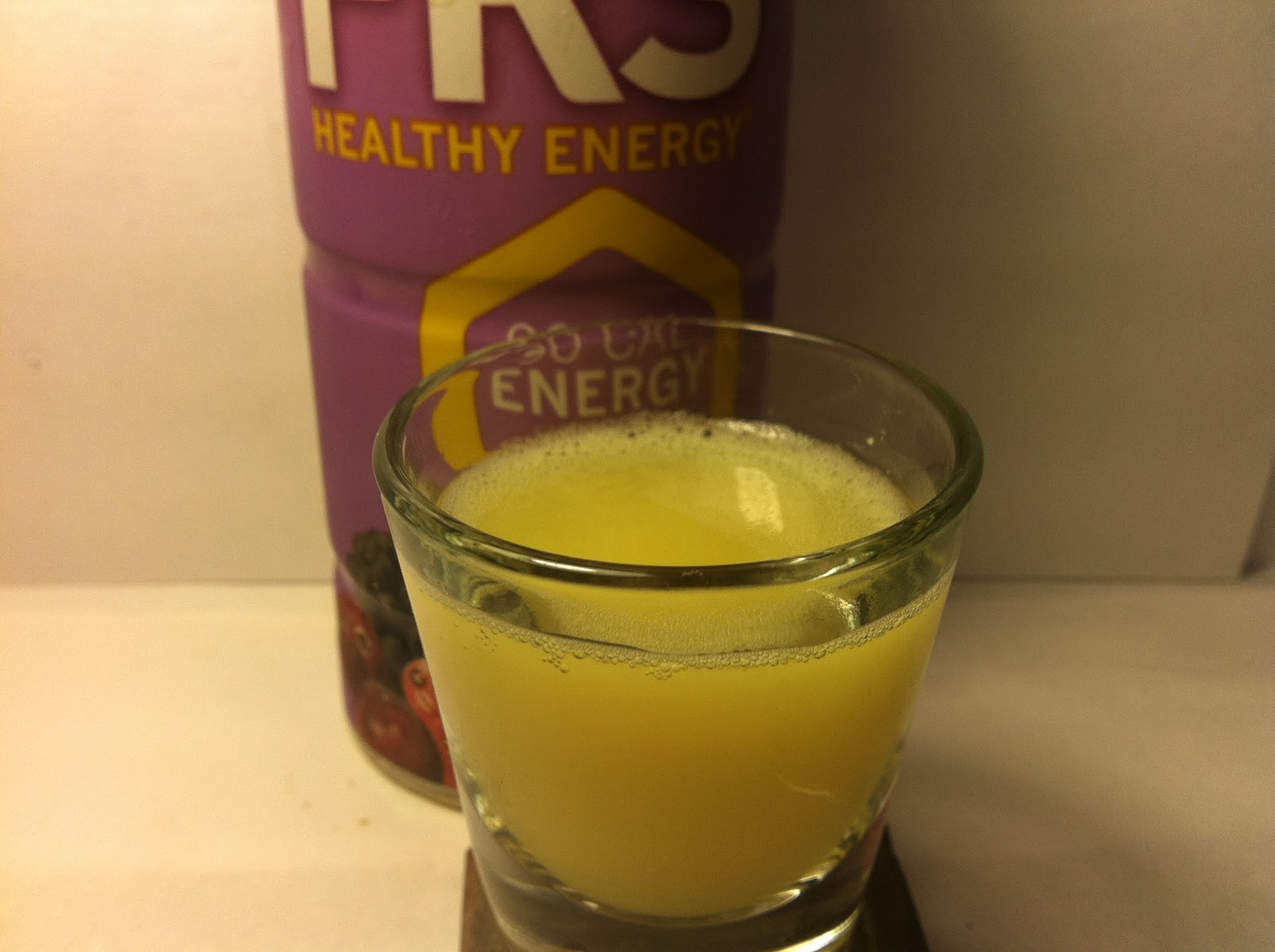 Review: FRS Healthy Energy Wild Berry Energy Drink - Crazy Food Dude