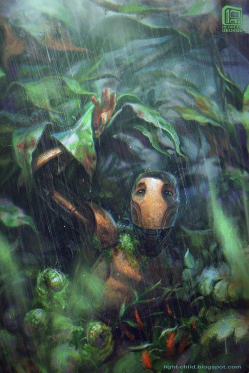 George Redreev artstation deviantart arte conceitual ilustrações fantasia ficção científica