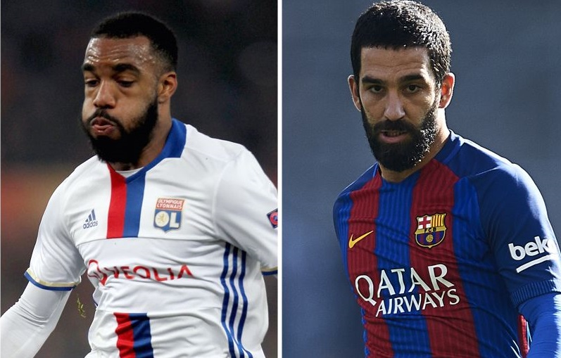 Arsenal transfer news - Alexandre Lacazette, Arda Turan