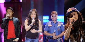 """The Voice of the Philippines"" Season 2 Tammy, Jannet, Tanya and Kokoi"