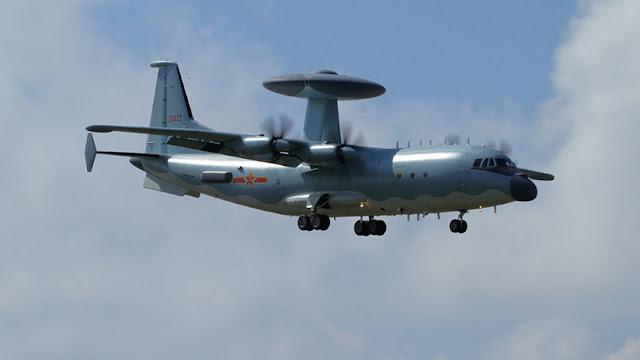 """El """"terror"""" de los cazas furtivos de EE.UU.: China desarrolla un avanzado avión de alerta temprana"""