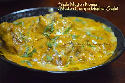 Shahi Mutton Korma