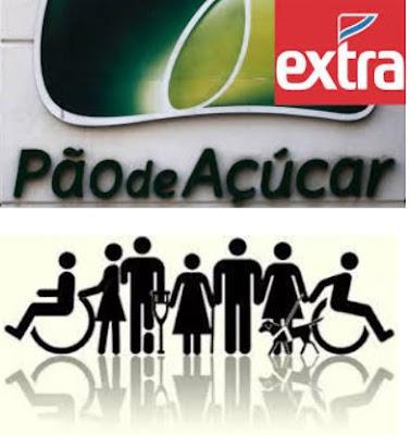 EXTRA E PÃO DE AÇÚCAR CONTRATAM PESSOAS COM DEFICIÊNCIA EM SÃO PAULO