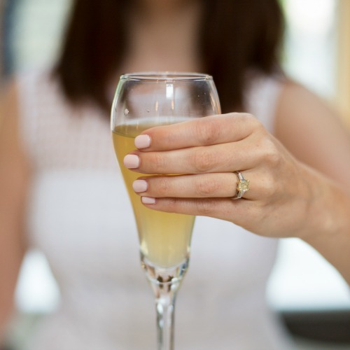 bubbly themed bridal shower