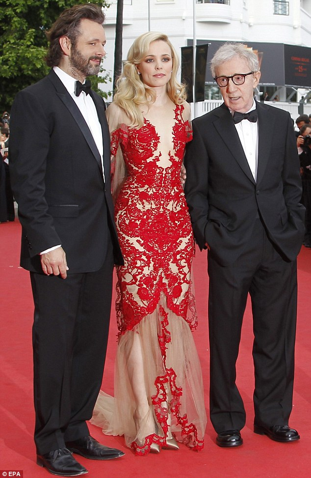 Rachel McAdams wows the Cannes Film Festival crowd in a daring sheer red dress