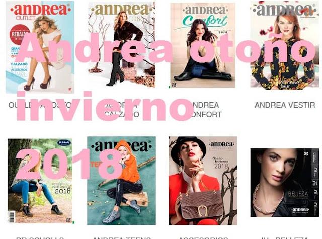 Catalogos digitales ANDREA  Otoño Invienro 2018  ( completo )
