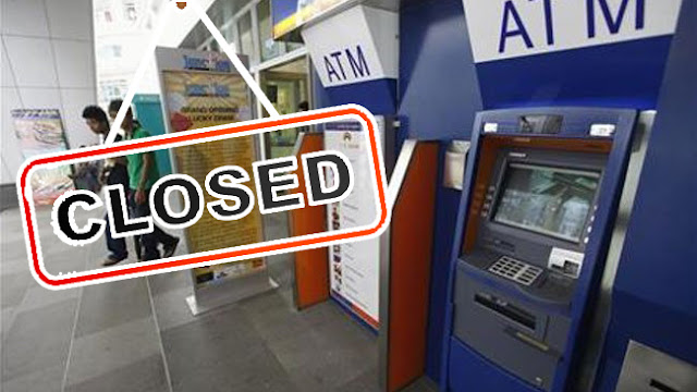 ATM Shutdown Coming Soon in First Quarter of 2019