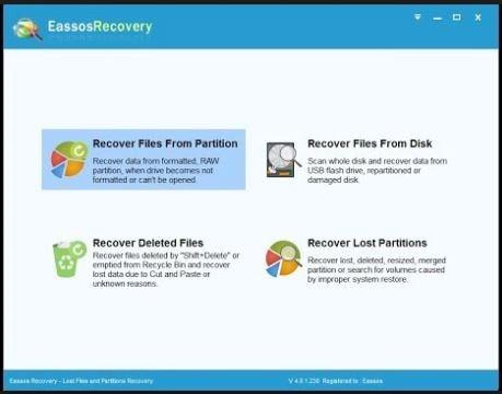 أحدث برنامج لإسترجاع الملفات المحذوفة Eassosrecovery فولدر