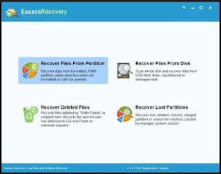 برنامج, إحترافى, لإستعادة, وأسترجاع, الملفات, المحذوفة, بجميع, أنواعها, EassosRecovery