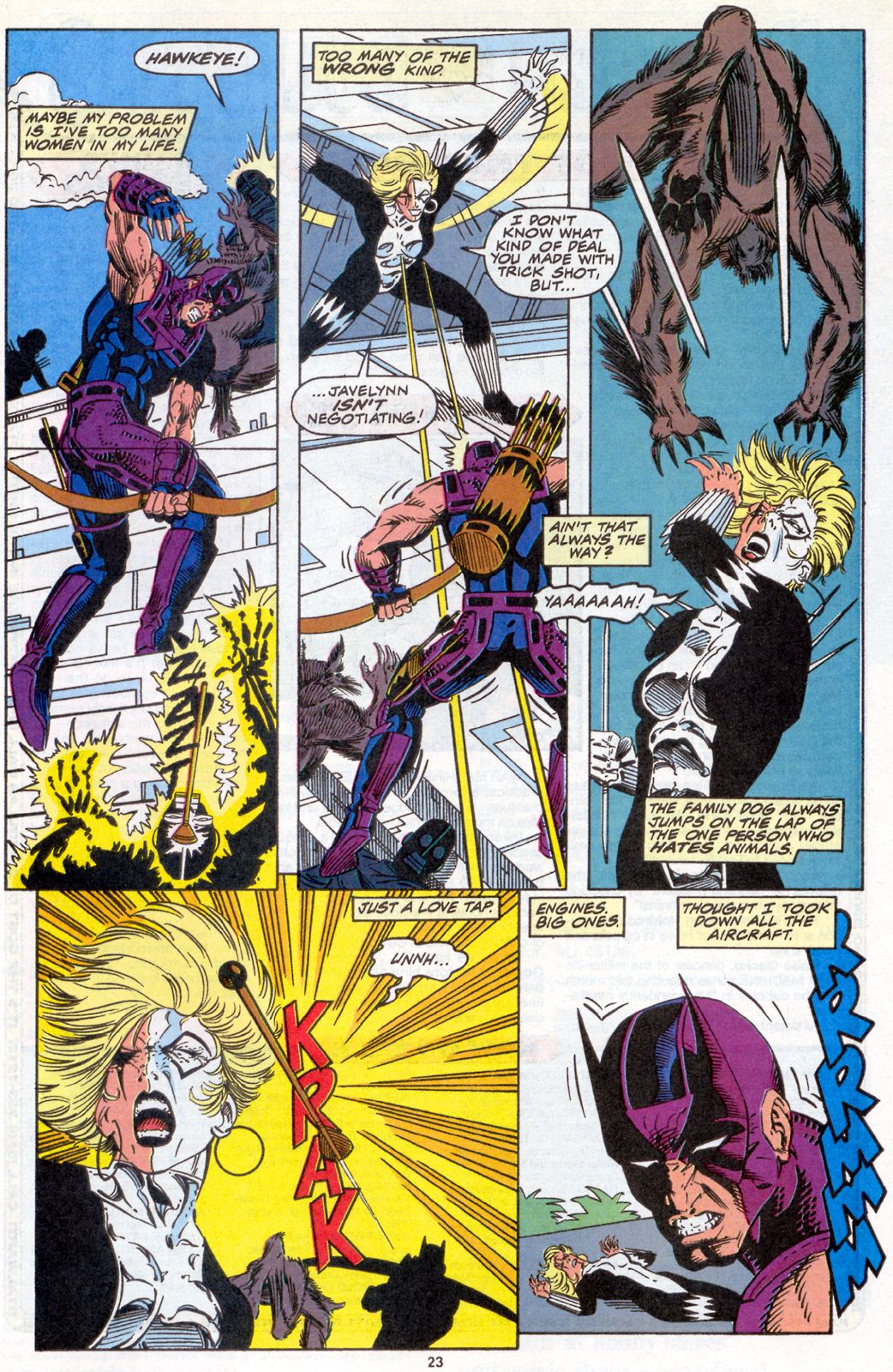 Hawkeye (1994) Issue #4 #4 - English 19