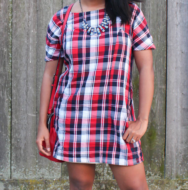 plaid-dress-heels