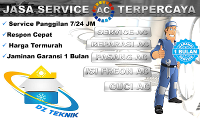 Layanan Service AC terpercaya di Bandung