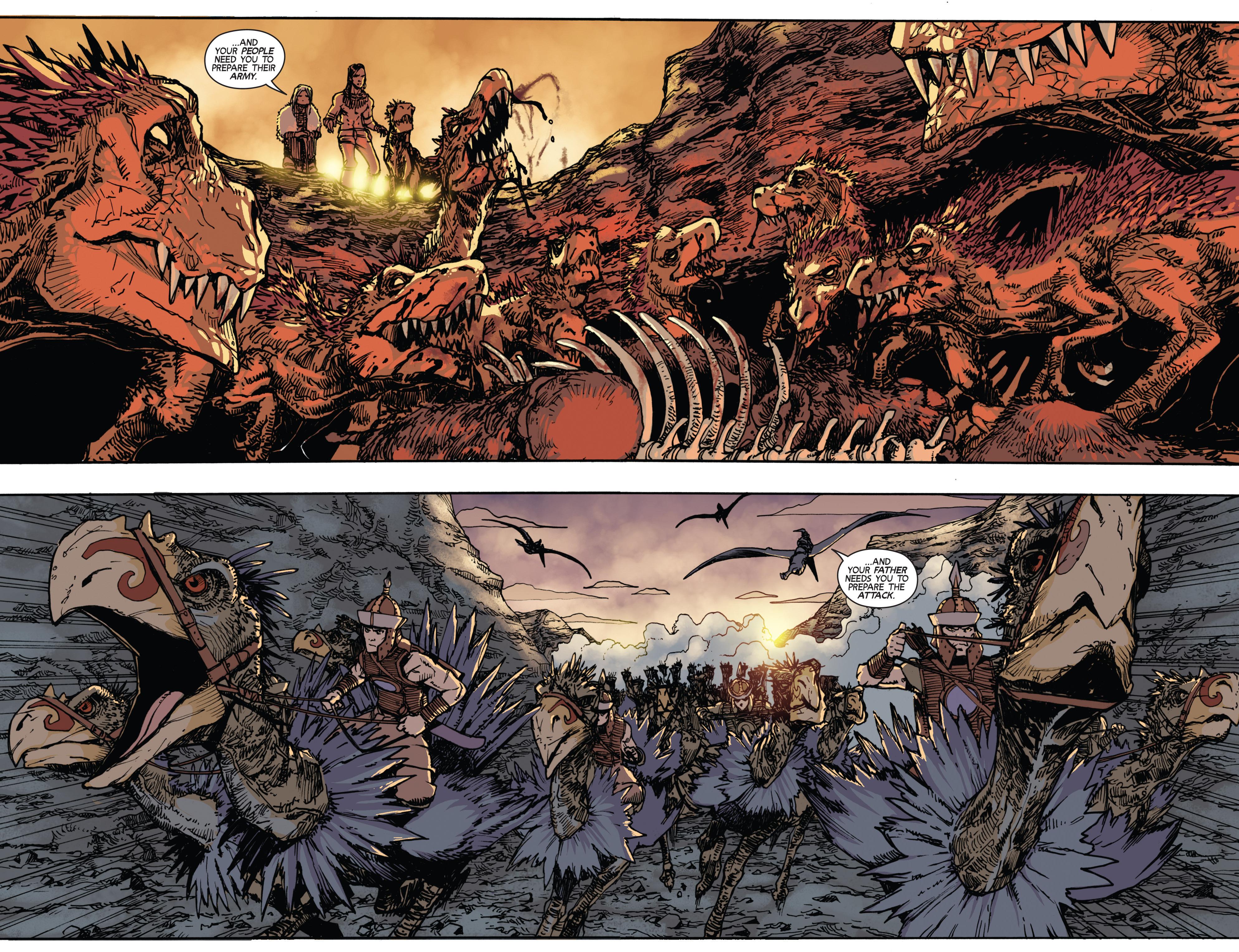 Read online Turok: Dinosaur Hunter (2014) comic -  Issue # _TPB 2 - 42