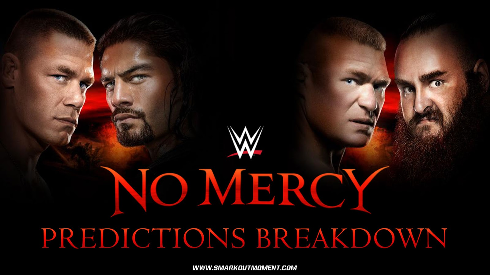 WWE NO MERCY 2017 spoilers podcast