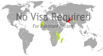 no visa required for pakistani people in these countries,