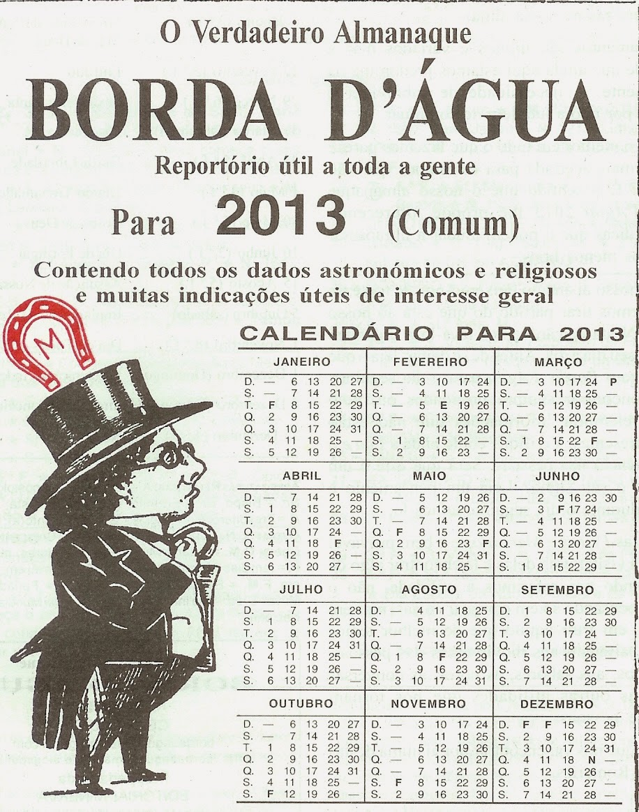 ... do Almanaque Borda d'Água