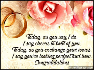 congratulations messages on friends marriage