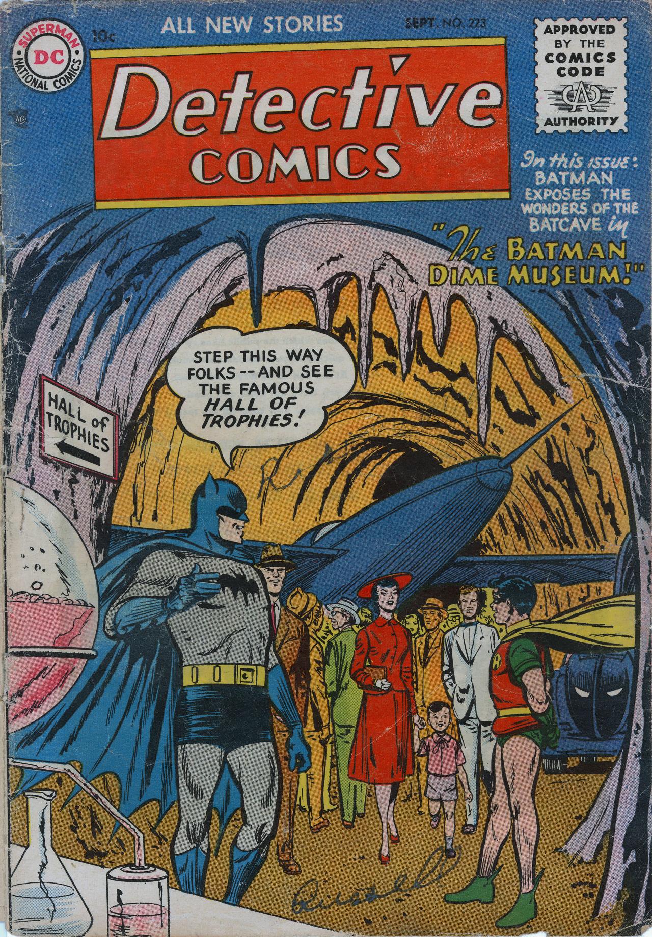Detective Comics (1937) 223 Page 0