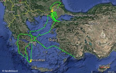 Το ταξίδι της Πλαγάρας από τα Αντικύθηρα στον Έβρο