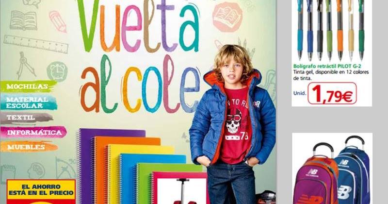 bajo precio 4988b e1b7c Material Escolar Alcampo - Vuelta al Cole 2015