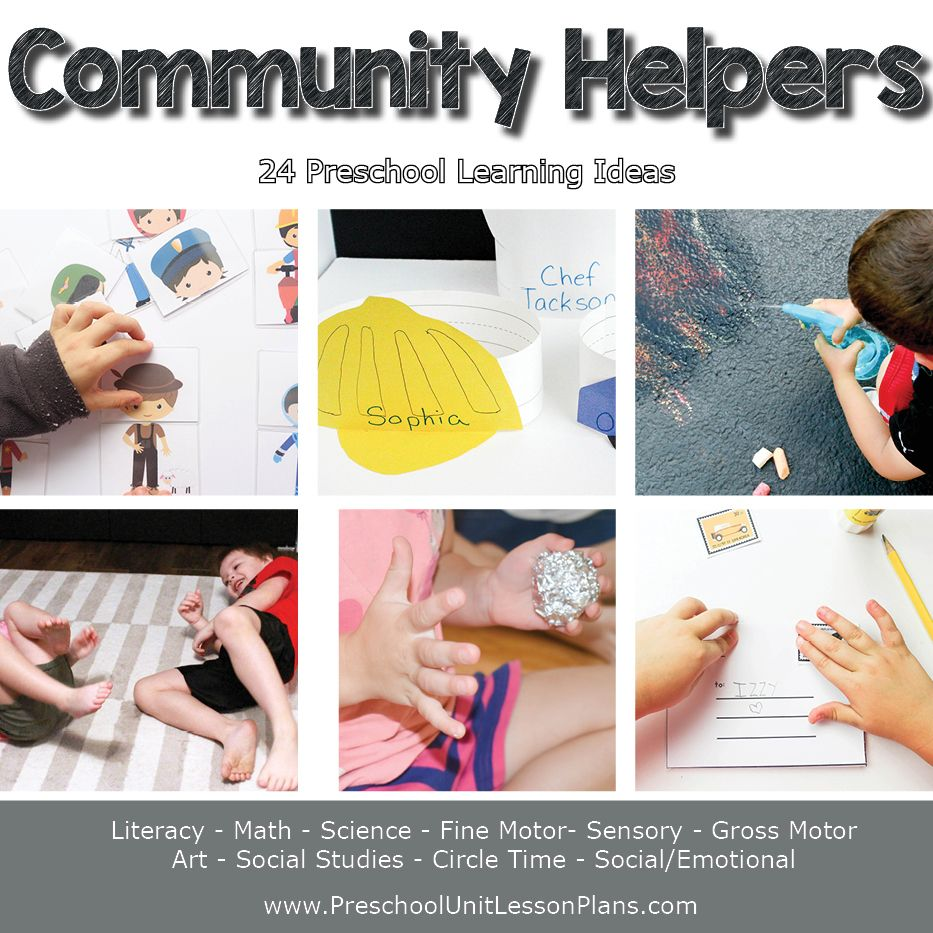Community Helpers Preschool Theme