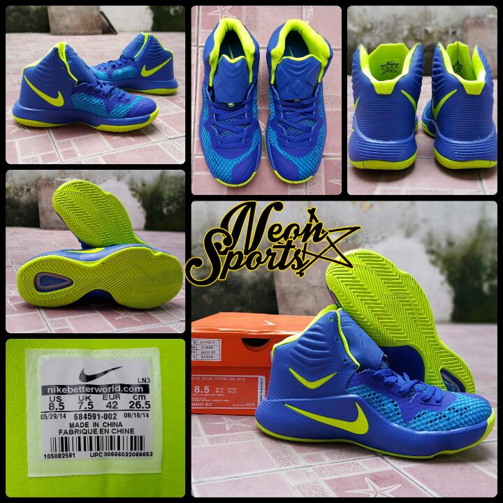 best service 00699 c4f0c SEPATU BASKET NIKE HYPERFUSE 2014 BLUE GREEN sepatu basket hyperdunk .
