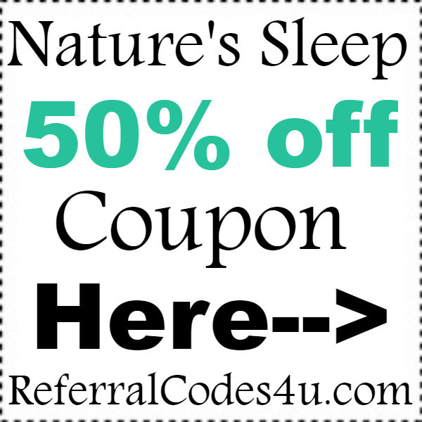Natures Sleep Coupon Codes 2016-2017, NaturesSleep Promo Codes October, November, December