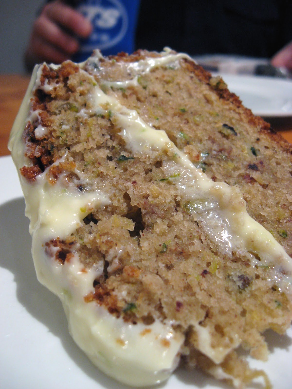 Morsels And Musings Zucchini Amp Pistachio Spice Cake W