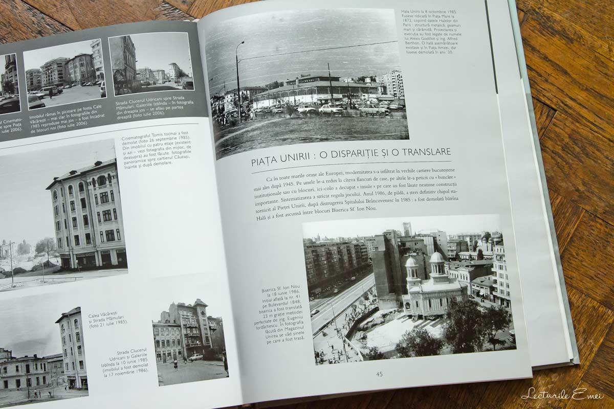 """Fotografii Cristian Popescu """"București-arhipelag. Demolările anilor '80: ștergeri, urme, reveniri"""""""