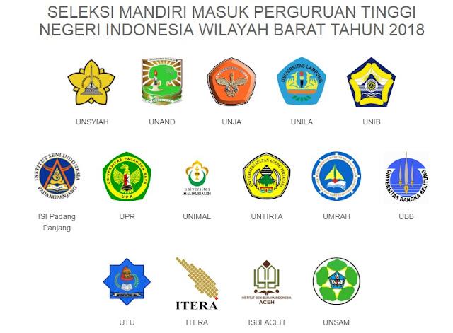 Syarat dan Cara Pendaftaran SMM PTN-BARAT 2018