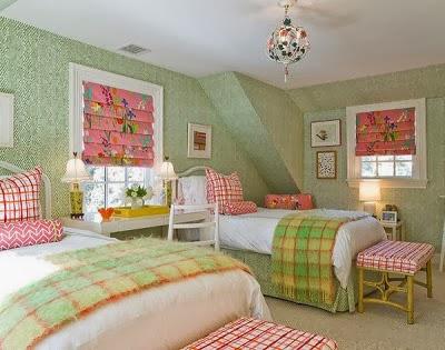 habitación para dos niñas