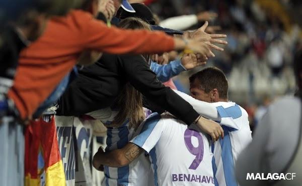 El Málaga ofrece hoy domingo cuatro partidos
