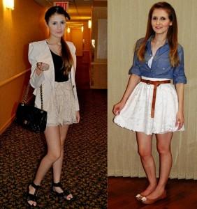 modelo de mini saia com rasteirinha - dicas e fotos